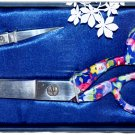 Beautiful Designer Scissors Set Floral Pattern Scissors B5435.01