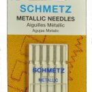 SCHMETZ Metallic Sewing Needles Size 80/12 1743