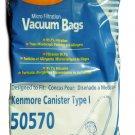 Kenmore 50570 Vacuum Cleaner Bags 8 bags In Pack KER-1457