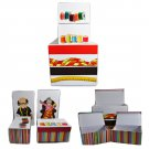 Novelty Sewing Storage Boxes Set of 4