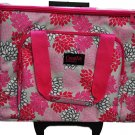Sewing Machine Trolley Pink Grey Floral