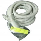 Central Vac Hose  Electric Hose, Crushproof, Dual Switching 30Ft 1 3/8In Direct