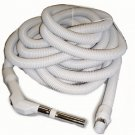 "Central Vacuum Hose 50 Ft 1 3/8"" Low Voltage Hose With Switch-Gre"