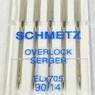 SCHMETZ Overlock Serger Sewing Machine Needles Size 14