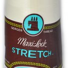 A&E Maxi Lock Stretch Textured Nylon Eggshell Serger Thread MWN-32674