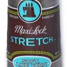 A&E Maxi Lock Stretch Textured Nylon Beige Taupe Serger Thread MWN-32093