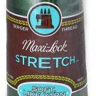 A&E Maxi Lock Stretch Textured Nylon Churchill Green Serger Thread MWN-32279