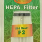 Dirt Devil Style F2 Vacuum Cleaner Filter ROR-1825