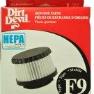 Dirt Devil Type F9 Hepa Vacuum Filter 3DJ03600-000, RO-DJ0360
