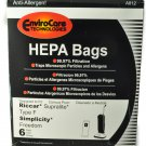 Simplicity Type F Vacuum Cleaner Bags 52-2401-01