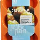 Casabella Muffin Baking Pan Standard Size Silicone