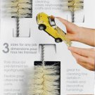 Casabella Soft Tip Bottle Brushes Small Medium and Large