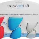 Casabella Silicone Measuring Cup Set 4 Piece