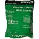 Sanyo Model SC-X2100P, SC-FH2 Vacuum Cleaner Filter