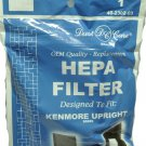 Kenmore Upright Vacuum Cleaner Hepa Filter 86889, 40324