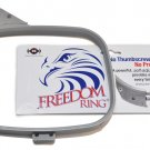 Durkee Freedom Ring Embroidery 4x4 Hoop