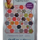 Honeycomb Quilt Pattern and Template