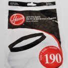 Hoover Style 190 Replacement Vacuum Belts 2 Pack