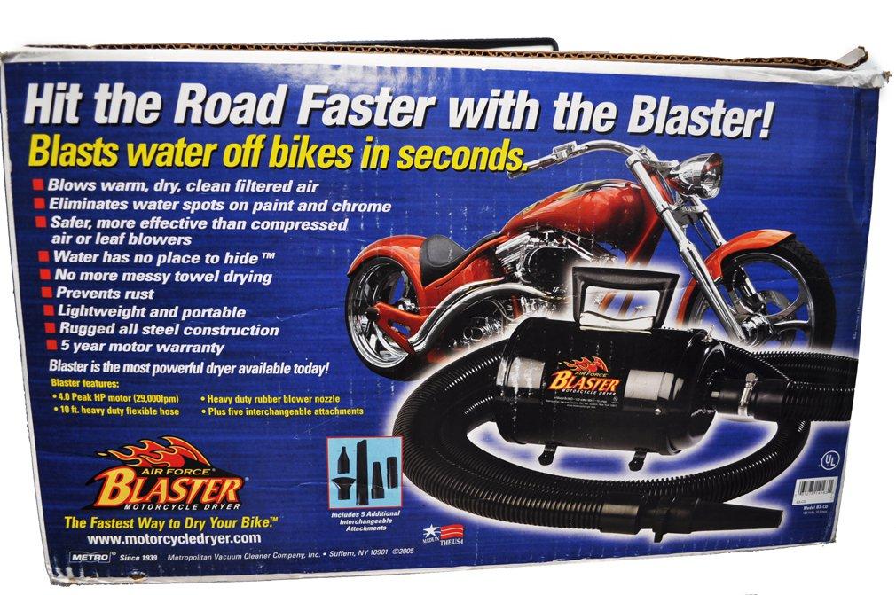 Metro Air Force Blaster Motorcycle Dryer