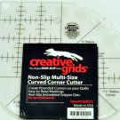 Creative Grids Sewing Curved Corner Ruler Cutter, Non Slip, CGRCC