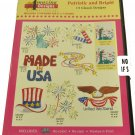 Amazing Designs Patriotic And Bright Embroidery Designs CD, ADC-231