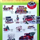 Amazing Designs Winter Scapes Classic Designs Embroidery CD, ADC-180