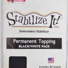 STABALIZE IT EMBROIDERY STABALIZER.  STABILIZE IT! PERMANENT TOPPING ADS-PTWB1