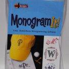 Amazing Designs Monogram It Software