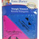 Fons and Porter Triangle Trimmers FPR7847