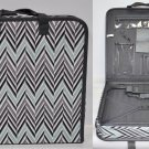 Omnigear Hard Sided Chevron Themed Quilters Project Case PD2113