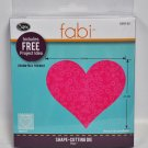 Fabi Bigz Heart Shape Cutting Die #3 659143