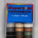 SuperBOBs Prewound Bobbins Bottom Line Thread L Style Natural And Earth