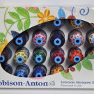Robison Anton Top 24 Polyester Embroidery Thread Set