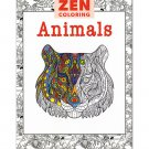 Zen Coloring Book: Animals