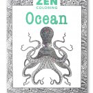 Zen Coloring Book: Ocean