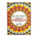 The Wonderful World of Mandalas Coloring Book
