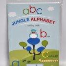 Jungle Alphabet Coloring Book
