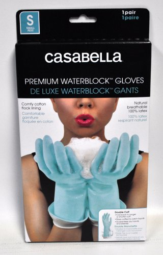 Casabella Water Block Premium Gloves Small Blue