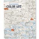 Ocean Wonders Color Art for Everyone Coloring Book