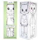 Forest Friends Coloring Block Set