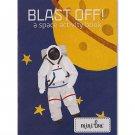 Blast Off! Coloring Book