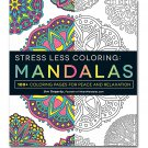 Adams Media Stress Less Coloring Mandalas