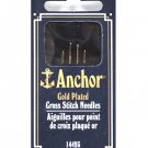 Anchor Gold-Plated Tapestry Hand Needles Size 26
