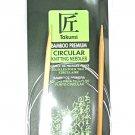Clover Takumi Bamboo 48 Inch Circular Knitting Needle Size 7