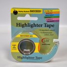 Removable Highlighter Tape Fluorescent Yellow