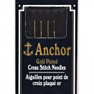 Anchor Gold-Plated Tapestry Hand Needles Size 24