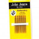John James Size 7 Embroidery Needles