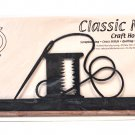 Classic Motifs Needle & Thread 12 Inch Charcoal Fabric Holder