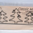 Classic Motifs 12 Inch 3 Evergreen Header Craft Holder