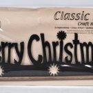 Classic Motifs 12 Inch Merry Christmas Craft Holder